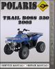 Thumbnail 2003 Polaris Trail Boss 330 Factory Service Repair Manual