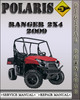Thumbnail 2009 Polaris Ranger 2X4 Factory Service Repair Manual