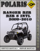 2009-2010 Polaris Ranger RZR RZR S INTL Factory Service Repair Manual