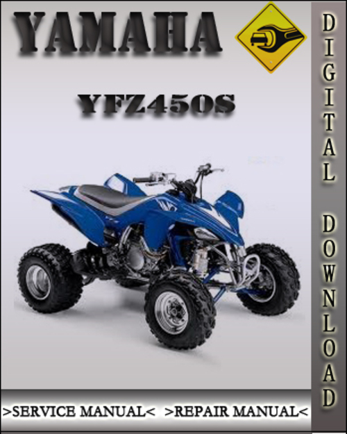 2003 2004 yamaha yfz450s factory service repair manual. Black Bedroom Furniture Sets. Home Design Ideas
