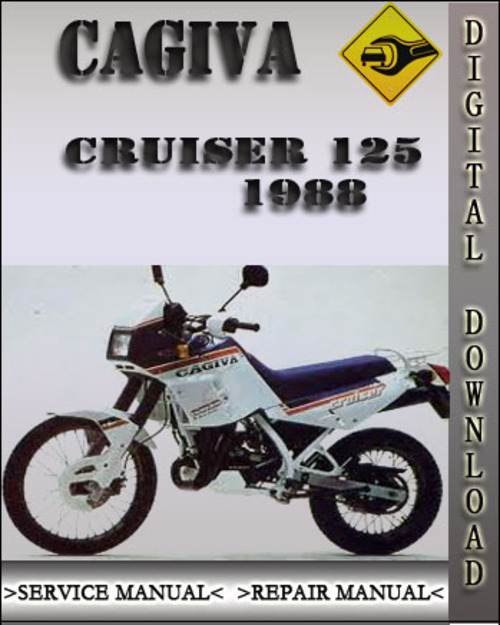 1988 cagiva cruiser 125 factory service repair manual 1988. Black Bedroom Furniture Sets. Home Design Ideas
