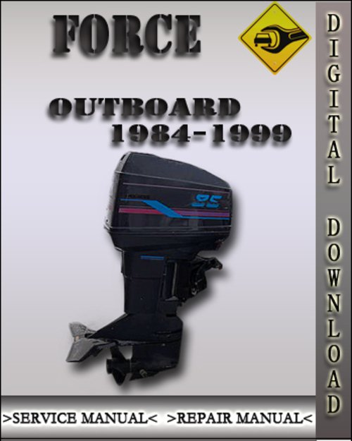 1995 force 70 Service manual